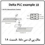 مثال PLC دلتا – STL Manual-Auto Control 18