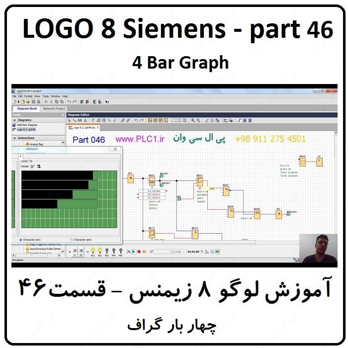 آموزش LOGO زیمنس ، 46 ، چهار بار گراف
