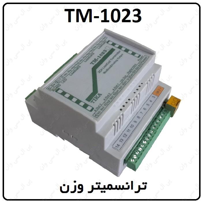 دفترچه راهنماي ترانسمیتر وزن TM-1023