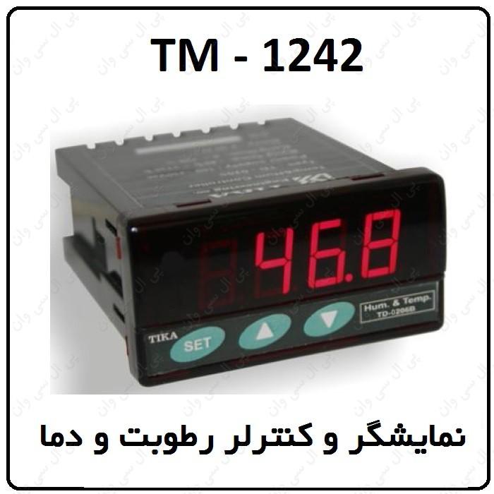راهنماي نمایشگر و کنترلر رطوبت و دما TM-1242