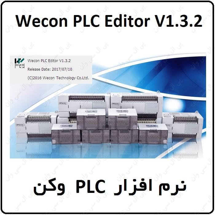 نرم افزار PLC وکن Wecon.PLC.Editor.1.3.2