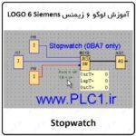 آموزش لوگو 6 زیمنس ، 36 ، Stopwatch