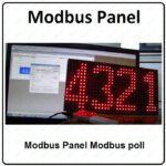Modbus Panel Modbus poll